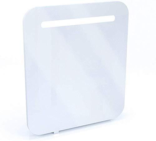 Vicco LED Spiegelschrank Weiß Hochglanz Badezimmerspiegel Badspiegel Spiegel Wandspiegel mit Beleuchtung