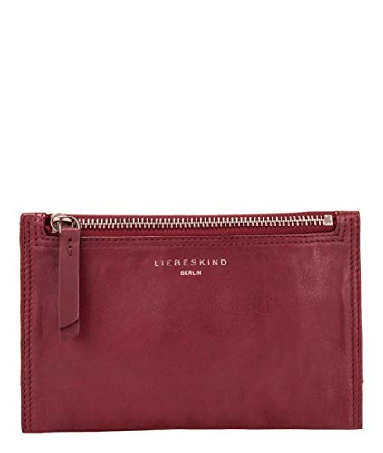 Liebeskind Berlin Damen Ever - Cosmetic Bag Small Taschenorganizer, Rot (red wine), 1x12x19 cm