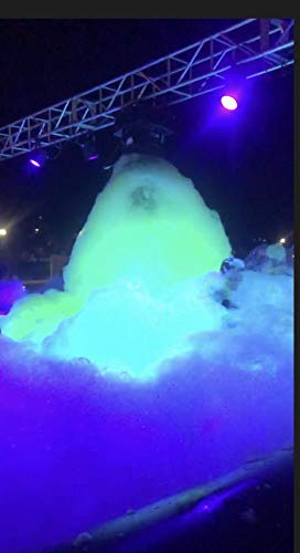 UV GLOW Foam Machine Party Foam 1/2 gallon of GEL Concentrated Foam Solution Makes 200 gallons of Foam Production