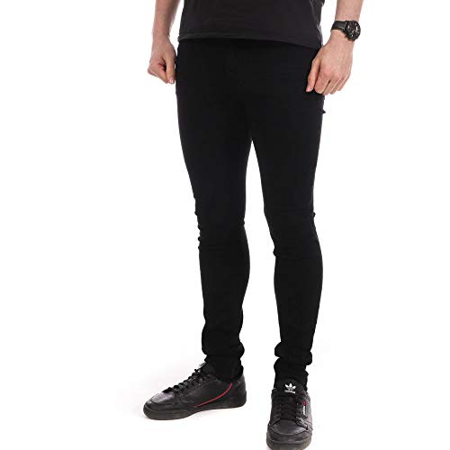 Teddy Smith Jeans Skinny Noir Homme Flash