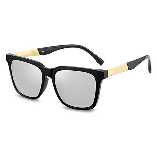 SSN Gafas De Sol Hombres Gafas De Sol Polarizadas Tendencia Caja De Ojos GM Pesca Cuadrada Conducción Gafas Especiales (Color : E)