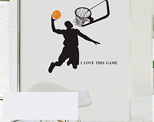 Basketball Persönlichkeit kreative Kobe Jordan Sports Slam Dunk Wandtapete
