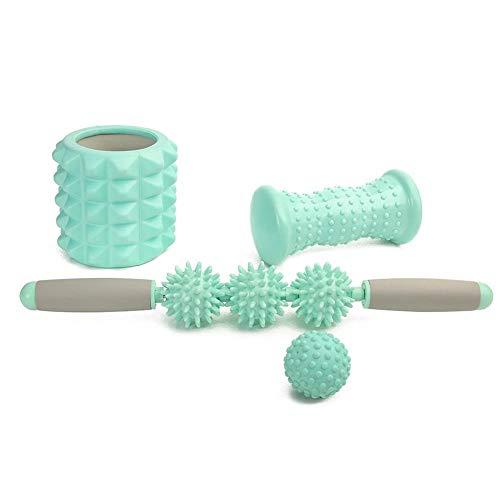 Lowest Prices! ZH Yoga Massage Ball Set Sharp Ball Peanut Massage Ball Foam Massage Ball Foam Shaft ...
