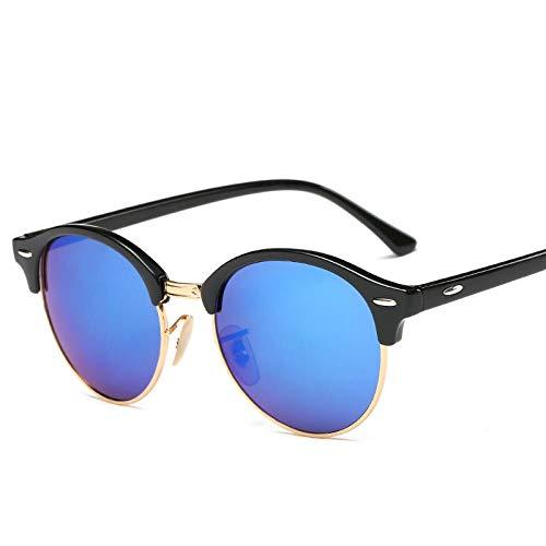 Gafas De Sol Polarizadas Gafas De Sol Vintage con Remaches Redondos para Mujer, Gafas De Diseñador De Marca, Uv400, Gafas De Sol Retro Sin Montura para Mujer, Elegantes Oculos
