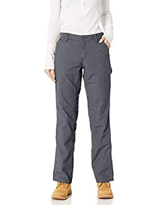 Carhartt Women's Original Fit Crawford Pant, Coal, 2 Short