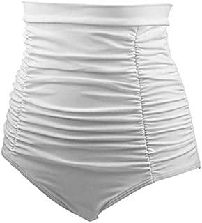 BEESCLOVER \High Waist Women's High Waist Bikini Swim Trunks Oversize Bath Short Swim Rn