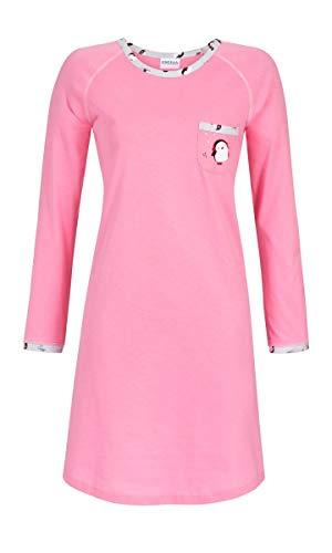 Ringella Damen Nachthemd mit Motivdruck pink 54 9511025, pink, 54