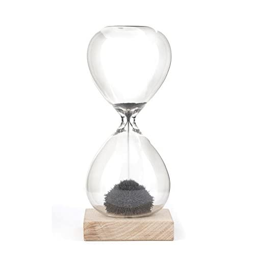 Deep Black /& Snow White by Abergel 30 /& 5 Minute Gravity Hourglasses Time Management Set