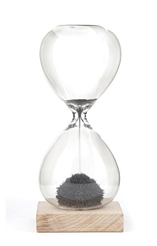 Reloj De Arena Magnetico Negro