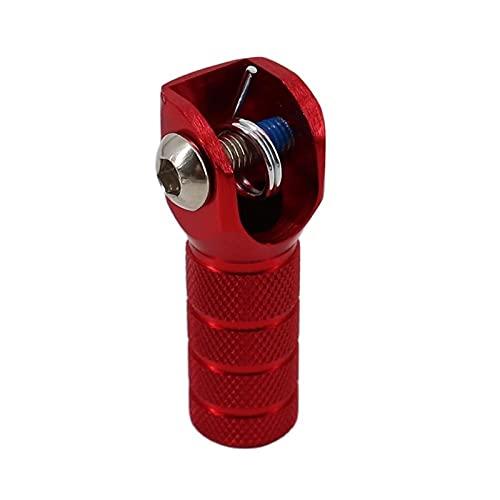 Reemplazo de la Punta de la Palanca de Cambio de Cambio de palanquilla SX SXF EXCCX XCW XCF SMR CRF YZF WRF KXF KLX RMZ MX Enduro con Tornillo SPR Readaptar (Color : Red)
