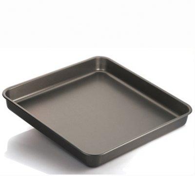 Vespa Teglia da Forno Antiaderente Alluminio 99.5% per rustici pizze Pasta Gateau 40X40cm H6cm -Made in Italy-