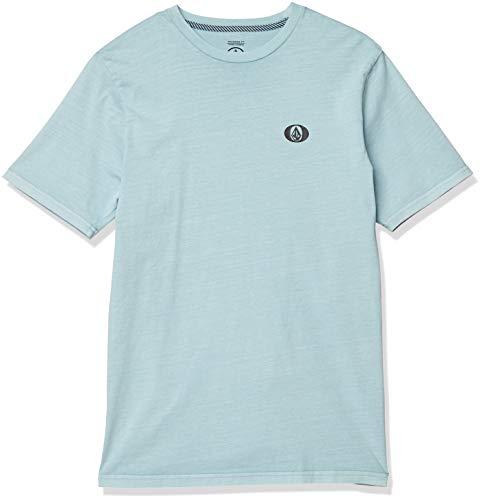 Volcom Herren THICKO S/S Tee T-Shirt, cool Blue, Klein