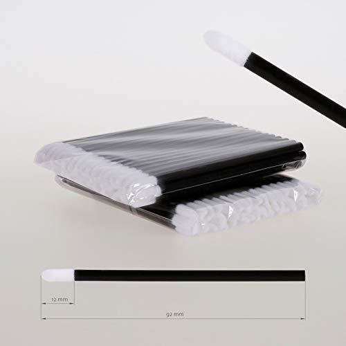 Lot de 100 bâtonnets de nettoyage en microfibre
