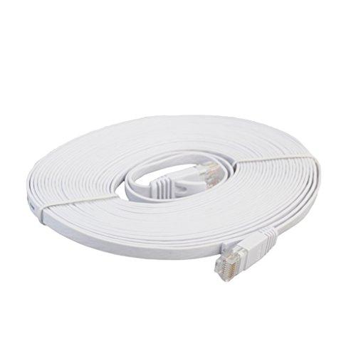 balikha Conector Plano del Cable de Conexión de La Red de Internet del Cable Ethernet del Gato 6