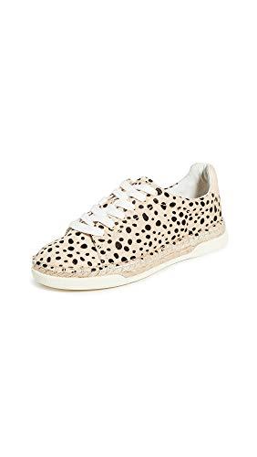 Dolce Vita Women's MADOX Sneaker, Leopard Calf Hair, 9 M US