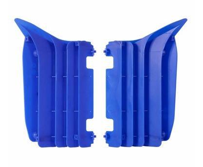 Polisport Housse de radiateur 4MX bleu pour Yamaha YZF 250 10-13