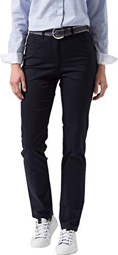 BRAX Damen Style Mary Sport Hose, Perma Blue, W38/L32 (Herstellergröße: 48)