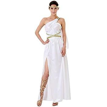 Grecian Goddess Halloween Costume for Women   Athena Aphrodite Dress S