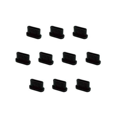 monofive USB3.1 Type-Cポート防塵保護カバー・キャップ(10個入り) シリコンタイプ MF-TYPEC-C10B