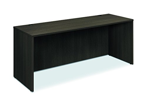 HON BL Laminate Series Credenza Shell - Desk Shell for Office,  72w x 24d x 29h, Espresso (HBL2121)