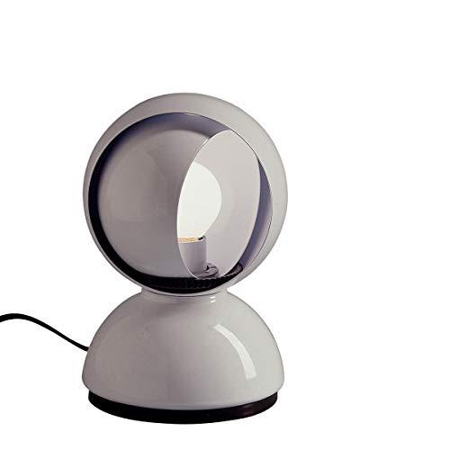 Artemide Eclisse Nachttischlampe, Weiß