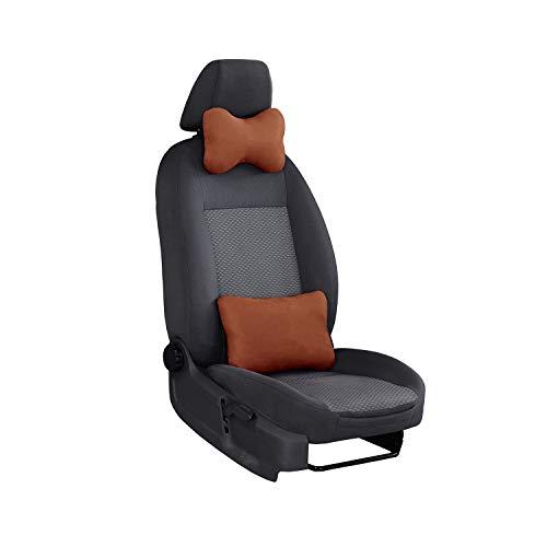 2/asiento del copiloto Banco ante de color negro. asiento del conductor m/étrica gefertigter Asiento Juego Vito W447
