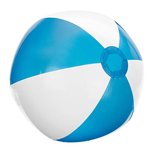 Pureday Aufblasbarer Wasserball Atlantik - Blau/Weiß