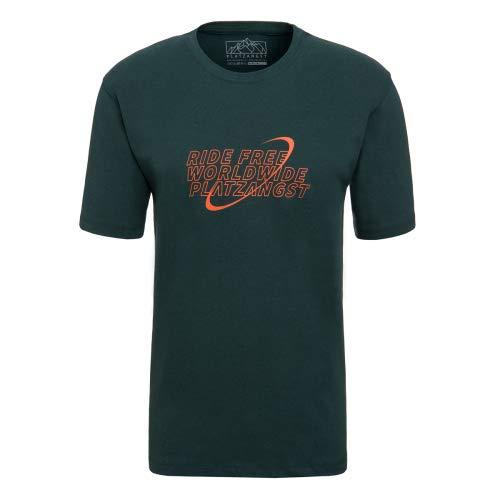 platzangst Worldwide T-Shirt - Grün Größe L