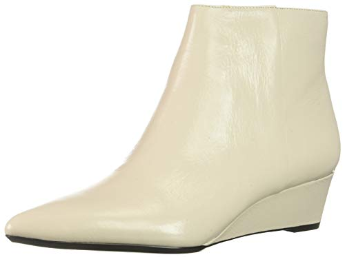 Calvin Klein Women's GAEL Ankle Boot, Soft White, 7 UK