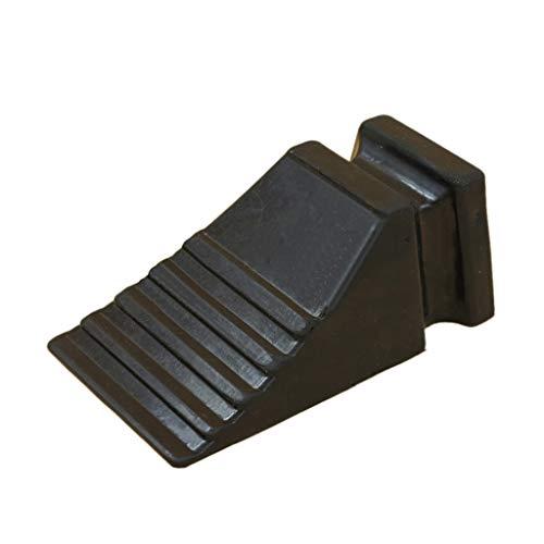 SZQ-Rampes Dispositif d'arrêt de roue de voiture, petites rampes de bordure en caoutchouc de quatre camions en caoutchouc de bloqueur Rampes (Color : Black)