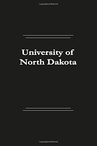 University of North Dakota: Lined notebook, 110 pages, (6 x 9 inches, 110 pages & Stylish soft cover)