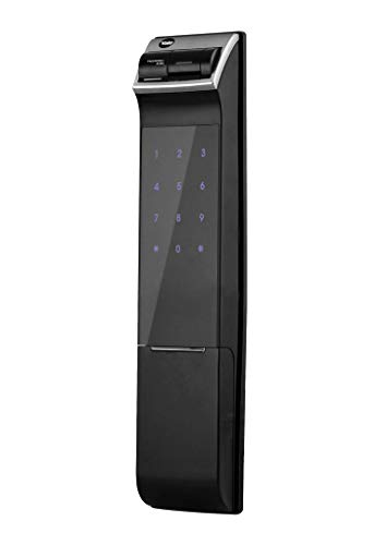 Fechadura Digital Yale YDM 4109 RL Trinco Rolete com Biometria