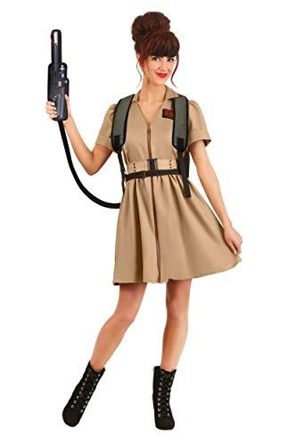 Disfraz de Cazafantasmas: para mujer - marrn - M