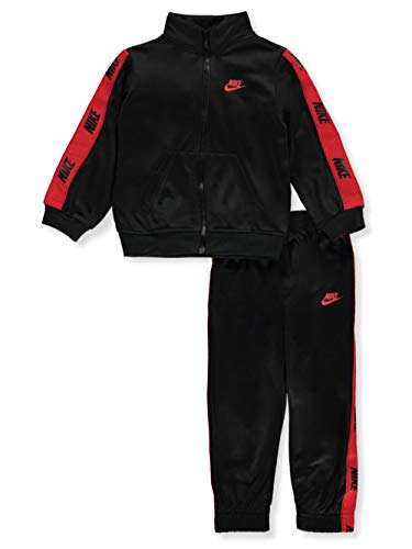 Nike Chándal de bebé Tricot negro, cód. 66G796-023 negro / rojo 12 Meses