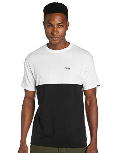 Vans Colorblock tee Camiseta, Multicolor (Black/White Y28), Large para Hombre