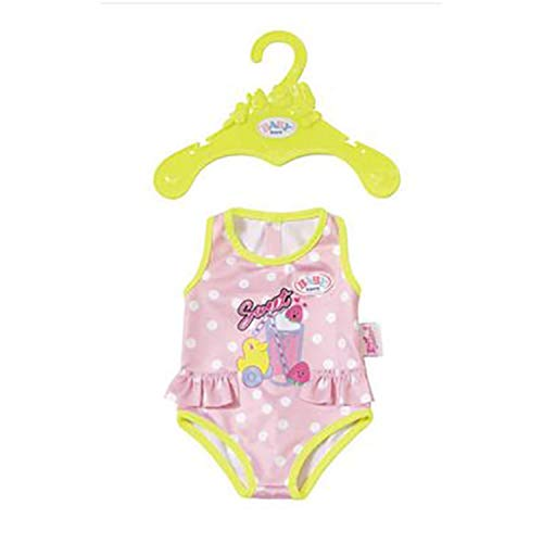 Zapf Creation 824580 BABY Born badpak poppenkleding, kleurrijk, 43 cm