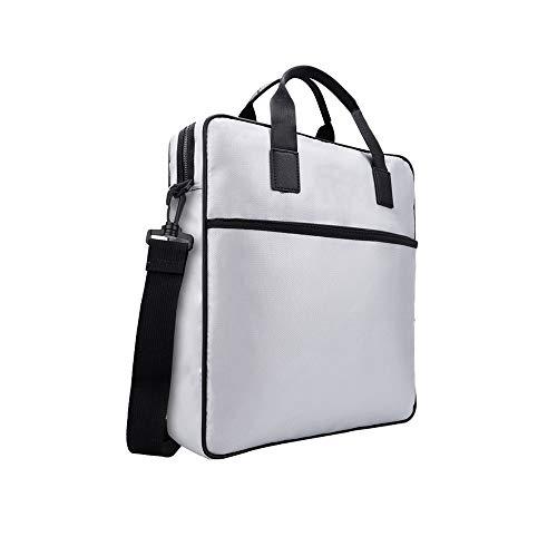 W-Master Nieuwe Brandwerende en waterdichte laptop tas, vloeibare siliconen coating, aluminiumfolie glasvezel stof, temperatuurbestendig voor kantoor