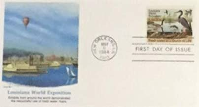 Louisiana World Exposition o First Day Cover Cachet - 1984 Fresh Water As A Source Of Life FDC #2086