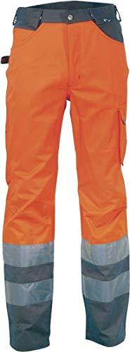 COFRA Warnschutz Hose in Zwei Farben mit hohem Baumwollanteil (56, Signal Orange)