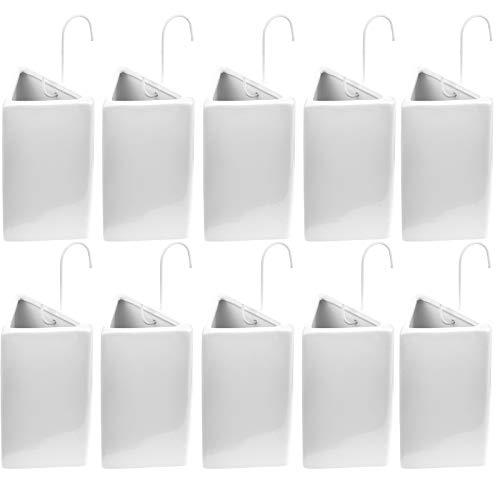 My-goodbuy24 Luftbefeuchter Heizkörper 10-teilig Set - Heizung Luftreiniger - Gesund Leben - Luftreiniger   Wasserverdunster aus Keramik   Luftfeuchtigkeit Luftbefeuchtungsgerät Klima Heizkörper