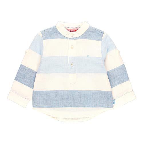 Camisa Lino Manga Larga de bebé niño