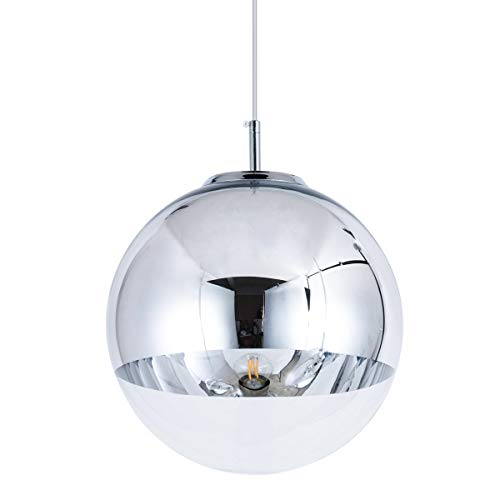 Mzithern Lighting Pendant Light Mirror Globe Mid Century Modern Decor...