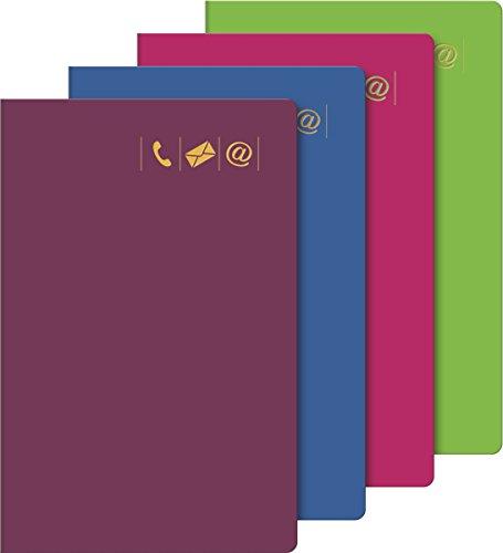 Baier & Schneider–Agenda telefónica,–Carpeta libreta de direcciones, 1150Números, Cubierta de en-14183en B