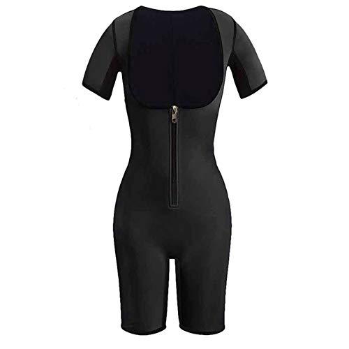 DIYHM Completa talladora del cuerpo de la cintura Trainer Sauna Traje de neopreno corsé de las mujeres que adelgaza la correa postparto del vientre Modelado Fajas ajustable Entrenador por la cintura d