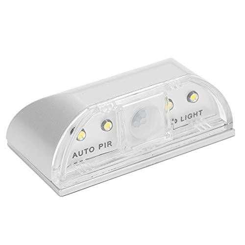 BOLORAMO Luz De Ojo De Cerradura, Detección Automática De Luz, Luz LED Blanca PIR De Alto Brillo para La Sala De Estar del Hogar