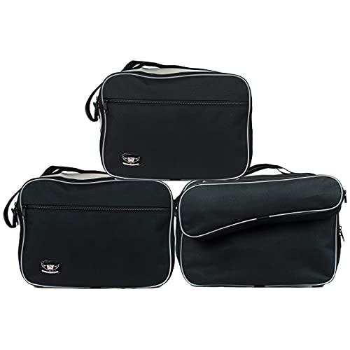Motorrad-Koffer Innentaschen kompatibel mit BMW Vario Koffer F750GS F850GS R1200GS (2013 WEITER) R1250GS Zubehör für Motorradtour Reise Gepäck Taschen für Kleidung I Motorradtaschen für Seitenkoffer