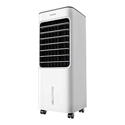 PRODEX PX5706W Portable Evaporative Air Cooler with Air Humidifying & Fan Function, 3 Speed Levels with Oscillation, 5 Litre Water Tank - White