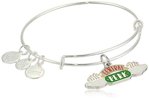 Alex and ANI Friends, Central Perk Charm Bangle Shiny Silver One Size