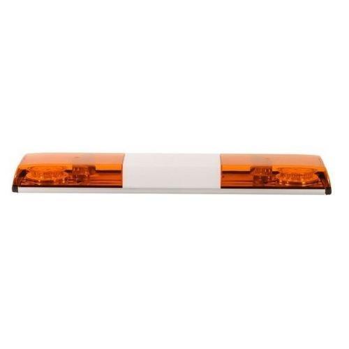LED Lichtwarnbalken Serie Germany Größe 700mm, Farbe gelb/Haube gelb