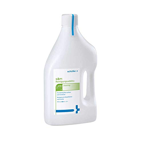 s&m Reinigungsadditiv Flächenreiniger Bodenreiniger Reinigung, streifenfrei, stark, 2 Liter